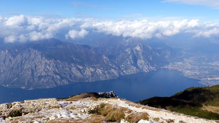 Gipfelblick - Lago di Garda