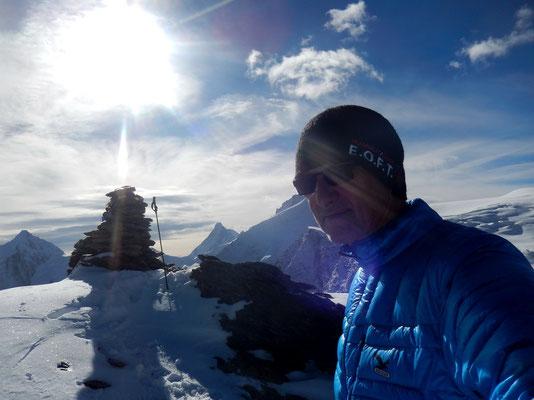 Pigne de la Lé - Gipfel 3396 M