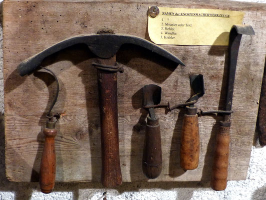 Knospenmacher-Werkzeuge