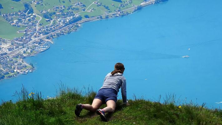 Gipfelblick: Walensee