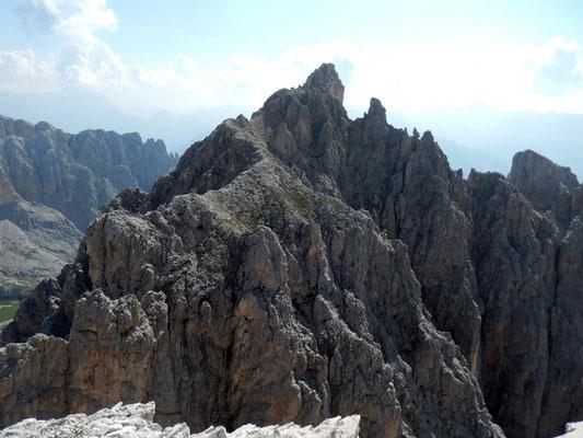 Gipfelblick - Der benachbarte Gran Cront, 2779 M