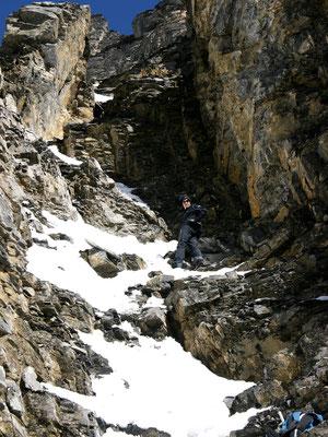 Einstieg - Chli Rinderhorn