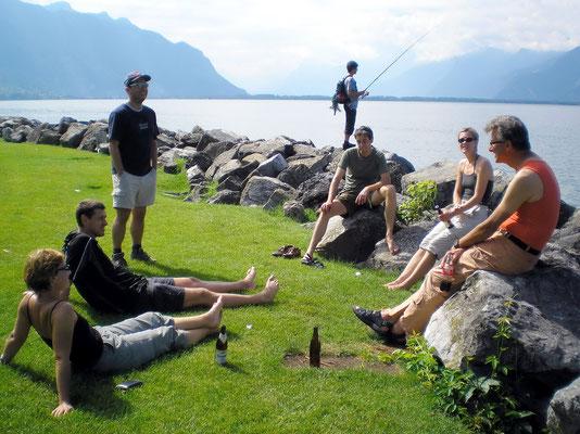 In Montreux - Lac Léman