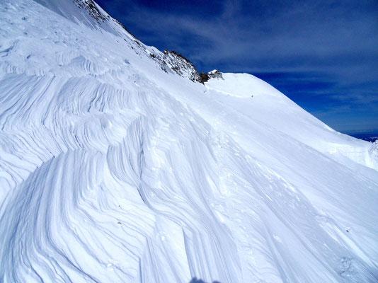 Vom Bergschrund zum Gipfel