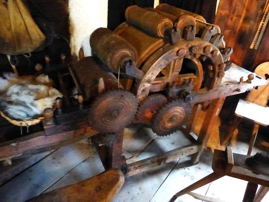 Wollverarbeitungsmaschine