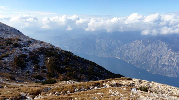 Gipfelblick - Lago di Garda - Limone