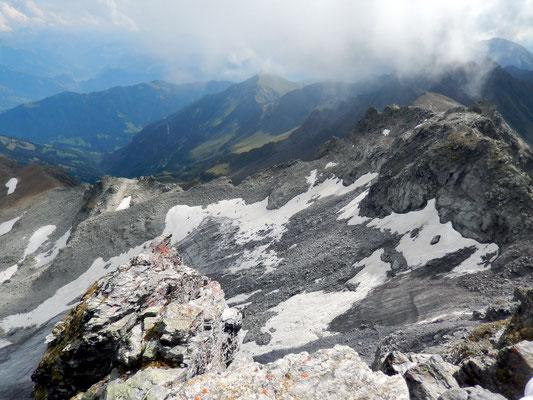 Gipfelblick gen Ost