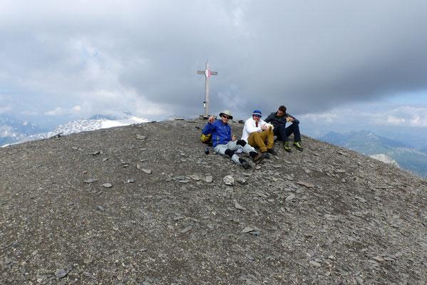Arpelistock-Gipfel, 3036 M