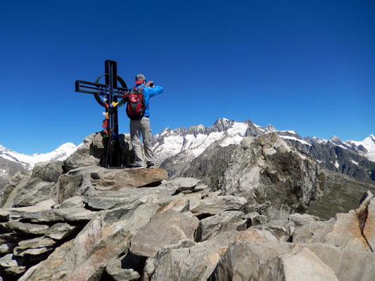 Eggishorn - Gipfelkreuz