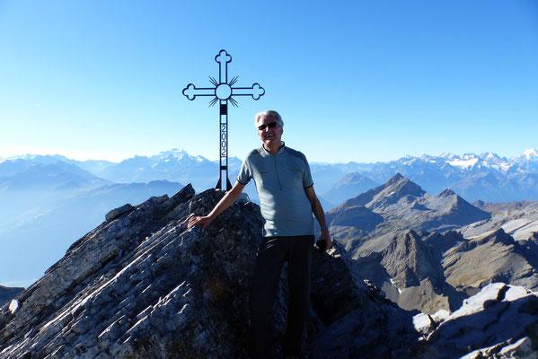 Am Gipfel des Grand Muveran - 3051 M