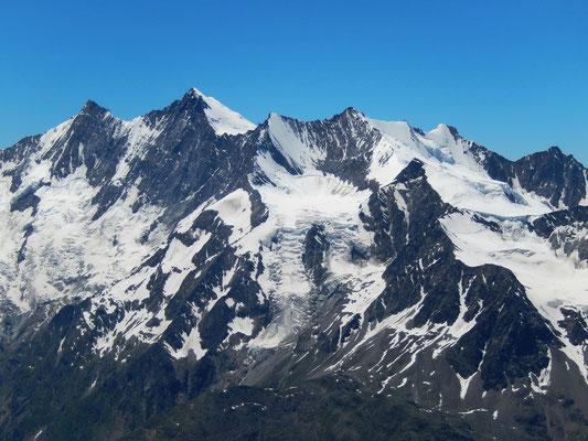 Gipfelblick - Mischabel