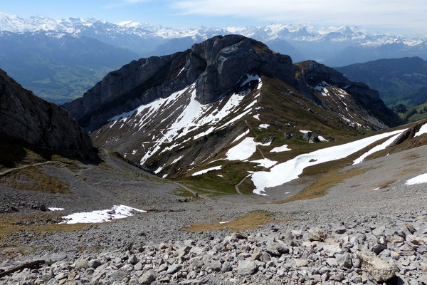 Pilatus-Gipfelblick auf das Matthorn