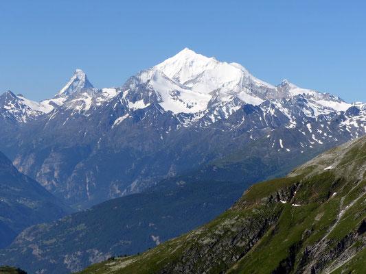 Gipfelblick - Weisshorn