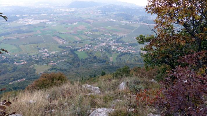 Gipfelblick nach Costermano