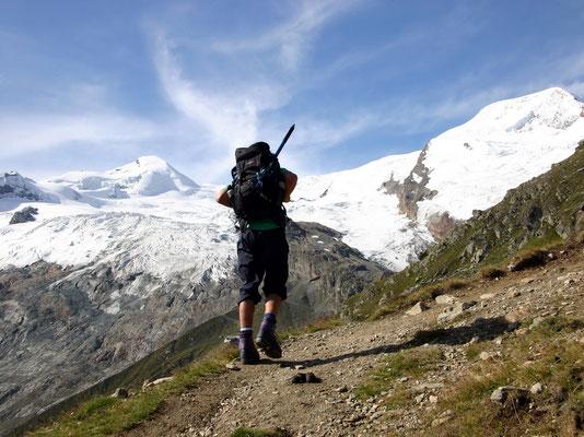 Aufstieg - Hannigalp 2250 M