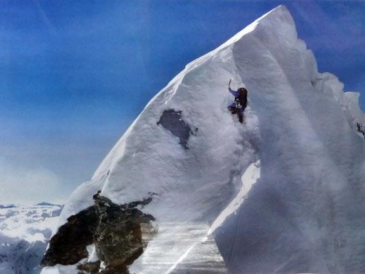 Poster - Apa Sherpa am Hillary-Step