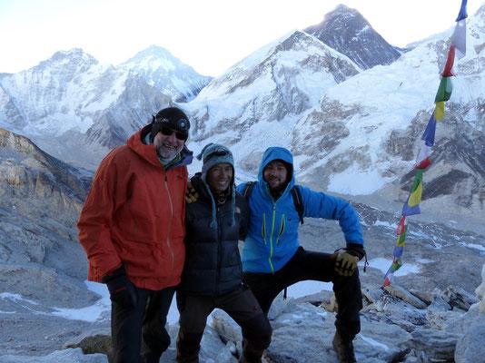 Gipfelbild mit Bikram - 5643 M