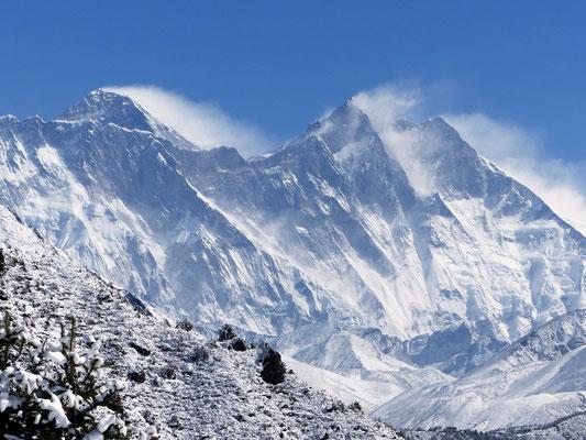 Mount Everest - Lhotse
