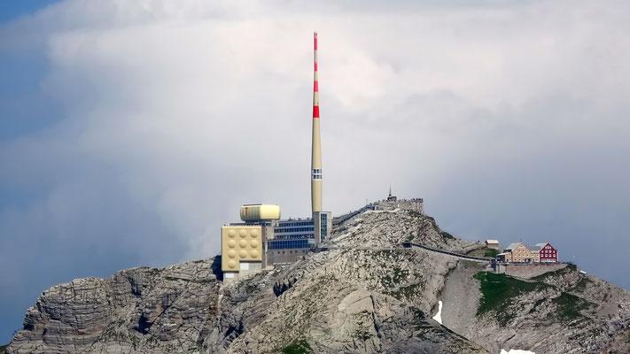 Gipfelblick: Säntis - 2502 M