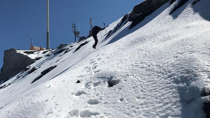 Querung zum Gipfel