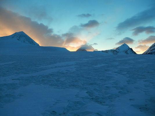 Gletscherplateau - 5950 M