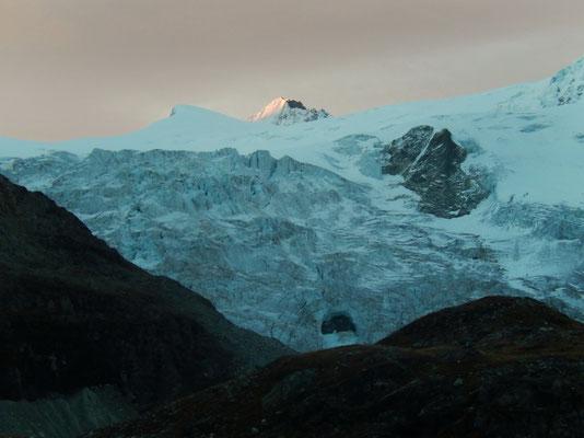 Grand Cornier über Glacier de Moiry