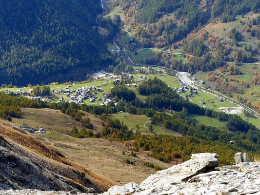 Gipfelblick - Les Hauderes