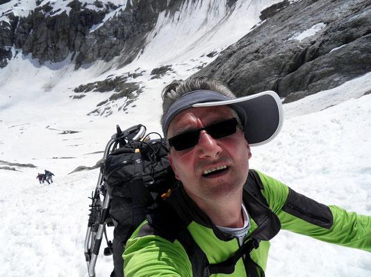 Aufstieg zum Glacier Blanc
