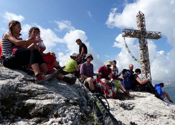 Am Gipfel des Gran Cir - 2592 M