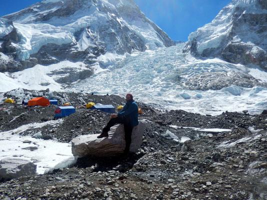Khumbu - Gletscherbruchzone