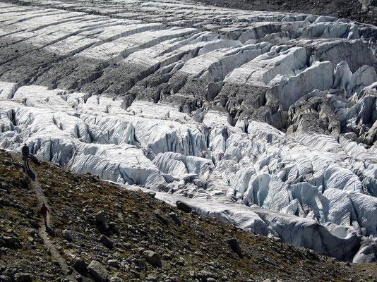 Gletscherbruch Obers Ischmeer