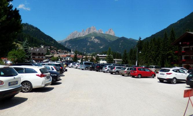 Zurück in Alba di Canazei - 1517 M
