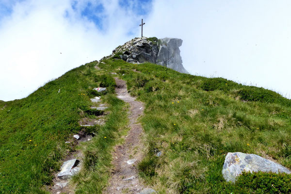 ... Gipfel des Mittaggüpfi - 1917 M