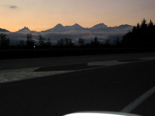 Anfahrt - Berner Oberland