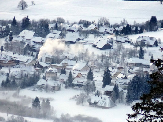 Tiefblick nach rechts - Bernau