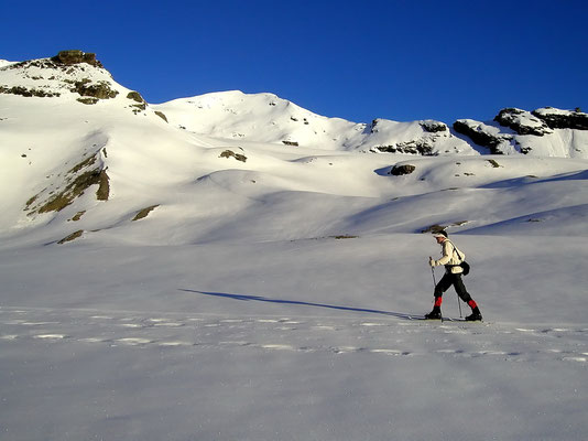 Aufbruch zum Col de Cheilon