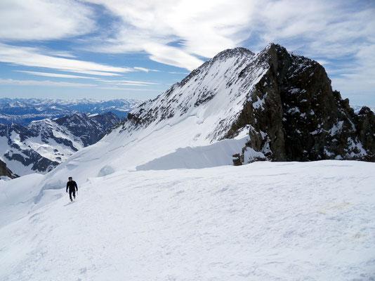 Gipfelblick zur Barre - 4107 M