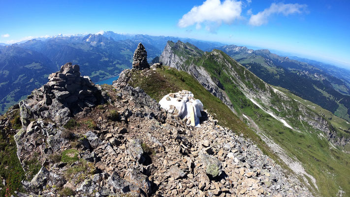 Gipfel vor Glarner Alpen