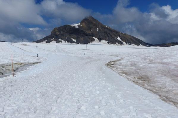 Oldenhorn - Blick vom Glacier de Tsanfleuron