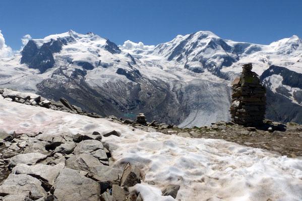 Monte Rosa - Grenzgletscher - Lyskamm
