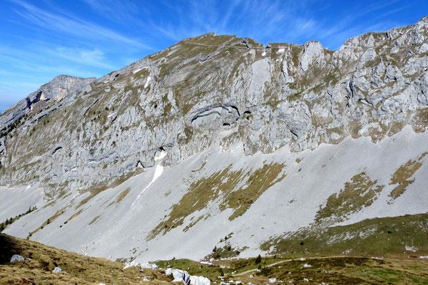 Gipfelblick - Tomlishorn, 2128 M
