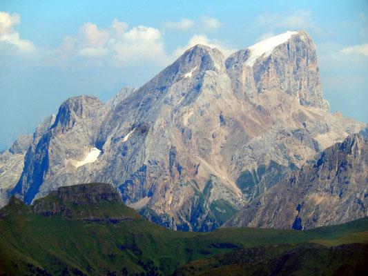 Gipfelblick - Marmolada di Penìa, 3343 M