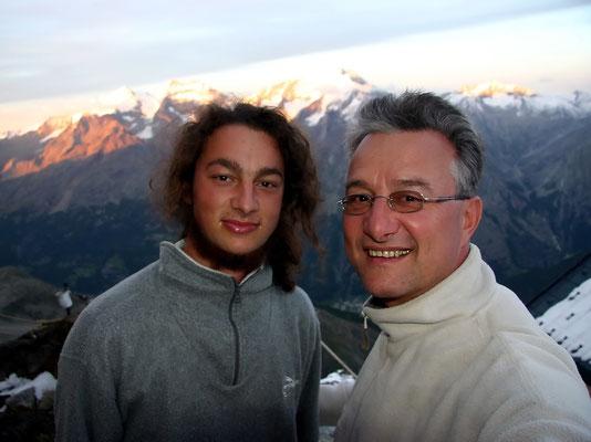 Christoph und HP Schmider