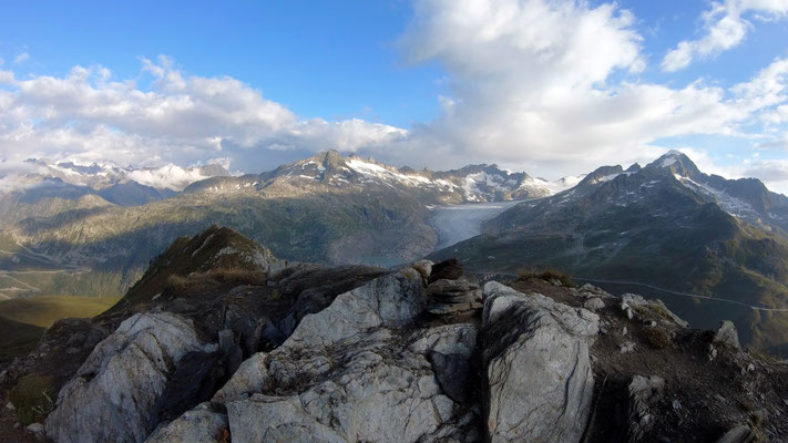 Gipfelblick nach Norden