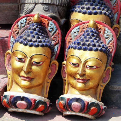 Buddha-Skulpturen