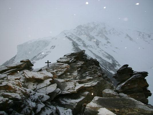 Schneesturm am Festigrat