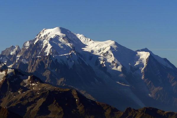 Gipfelblick - Mont Blanc, 4810 M