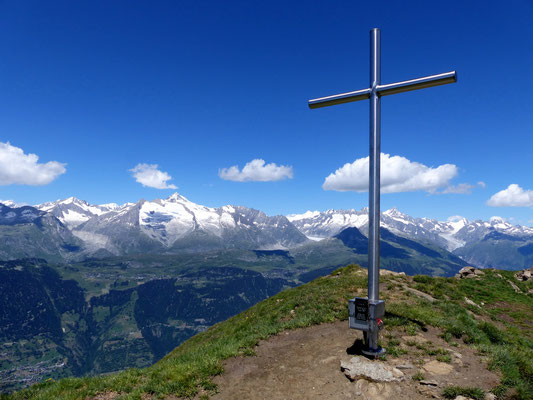 Am Gipfel des Fülhorn - 2738 M