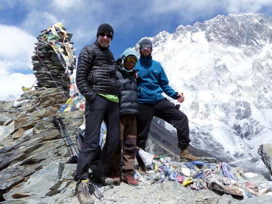 Gipfelbild mit Bikram