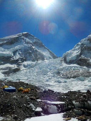 Everest-Westschulter - Khumbugletscher